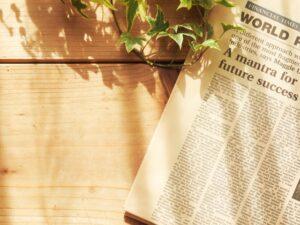新聞とアイビー